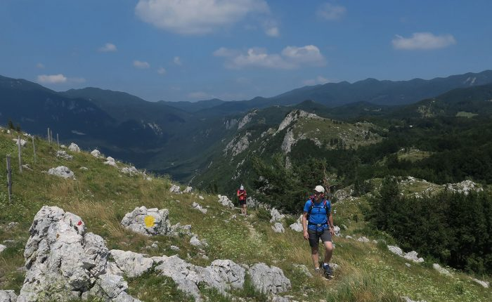 Impression from a 5-days hiking tour in Slovenia, which we organised in 2018.